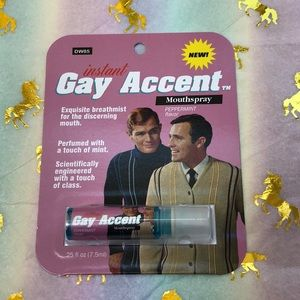 BlueQ instant Gay 🌈Accent 🎁GIFT💝